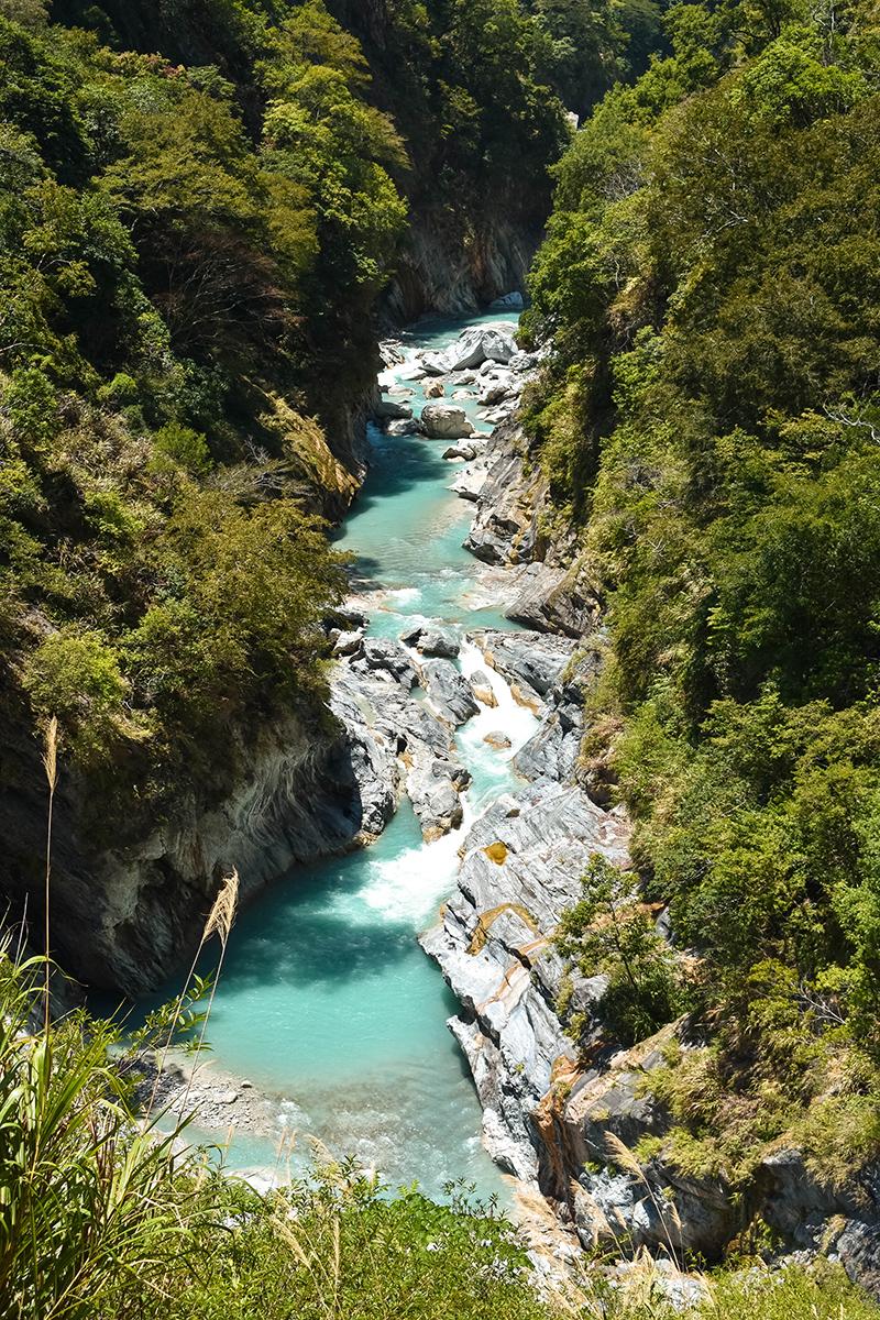 Shakadang river Taroko Gorge national park