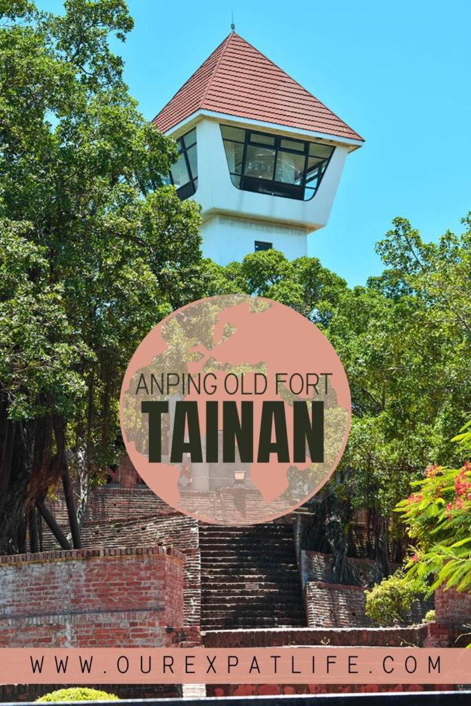 Pinterest Pin Anping Old Fort Tainan