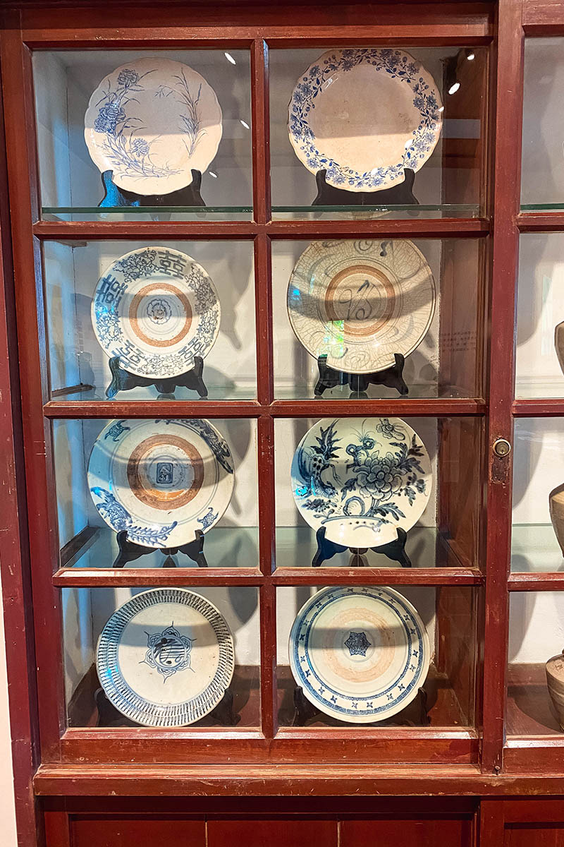 China porcelain in Anping Old Fort