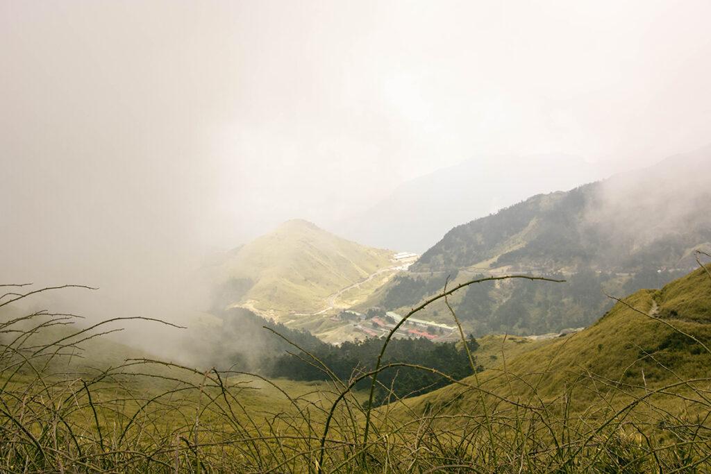 Foggy Mountains in Hehuanshan Taiwan