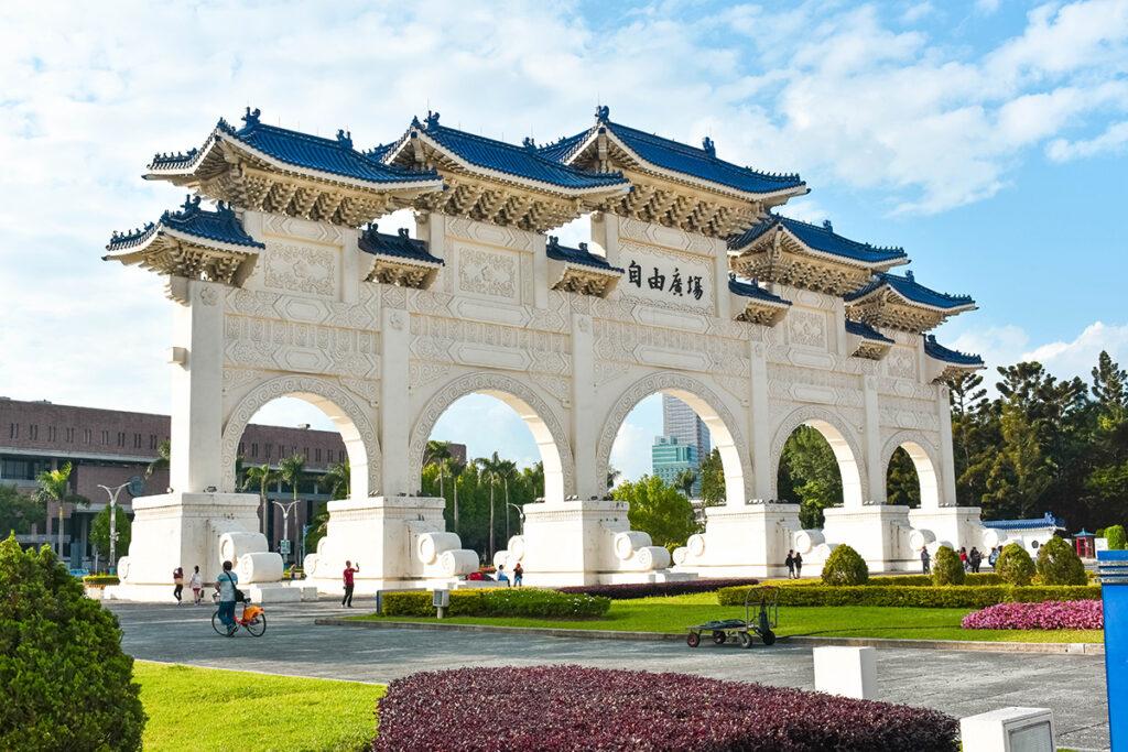 Taipei Chiang Kai-Shek memorail Hall